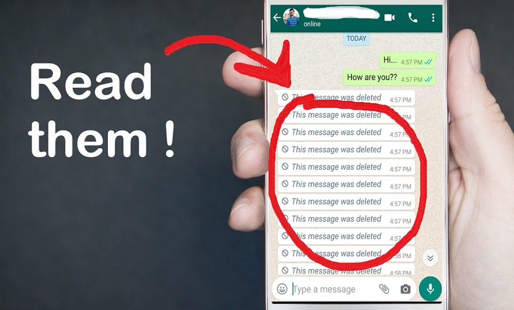 How to Read a Deleted Whatsapp Messages Someone Sent You