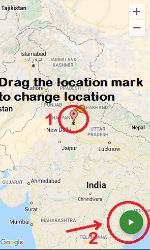 How to send fake live location on whatsapp for android using app
