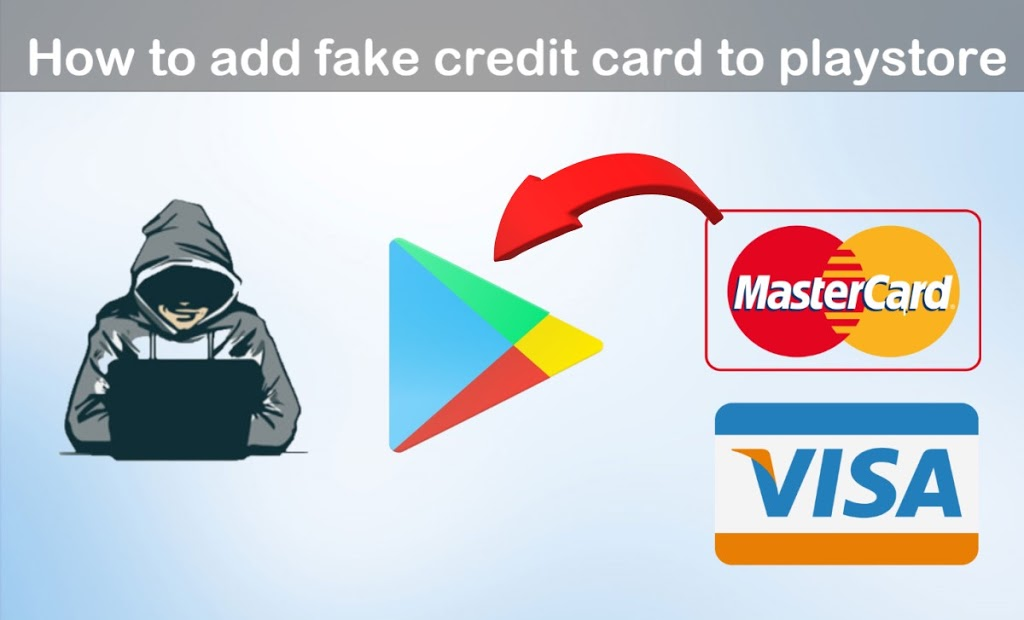How to Add Fake Mastercard Card on Google Playstore