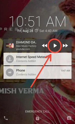 Play youtube with screen off in android