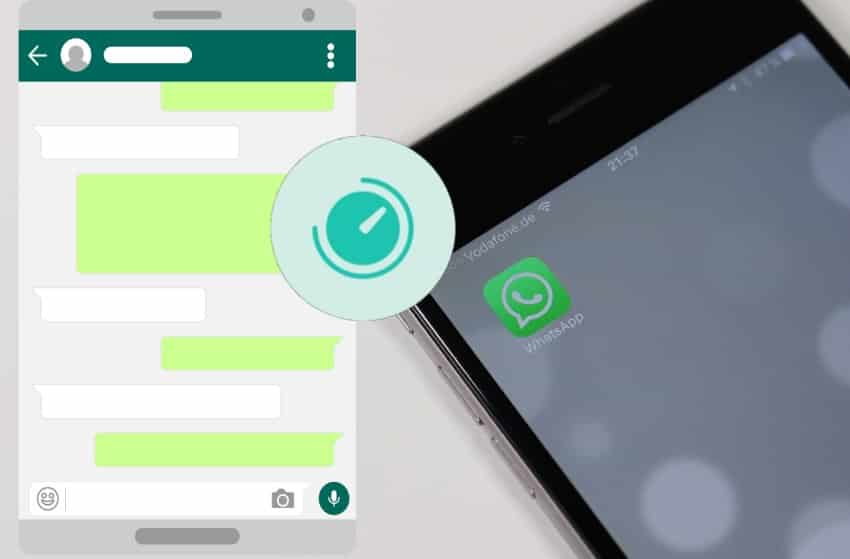 send disappearing messages on Whatsapp